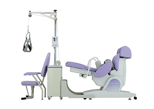 椅子型牽引器 + 頚椎牽引器